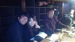 彩香さん、ジャンボリーさん、遠藤さんの3ショット。