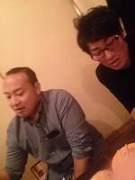 祝勝会の二次会は新宿にて