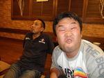 お得意の変顔渋谷さん・・・強烈(笑)