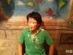 ケーキを顔に塗られた浅野さん この雄姿を忘れません。
