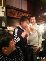 寺尾さんの高速のみ。あまりの速さに写真に捕らえることができませんでした。
