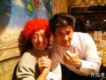 野上さんと中野さん。二人はバックスで仲良し。
