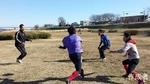 今日はタッチフットとディフェンス練習でした。