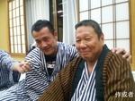 山中さんとうみさんは仲良し。