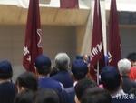4/13は午前中に稲城市体育大会の開会式でした。