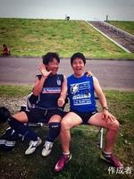 浅井さんと寺尾さんは仲良しです。