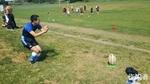 中沢くんは最近キック練習をしているそうです。